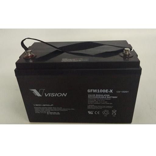 Bình ắc quy Vision 12V-100AH 6FM100E-X