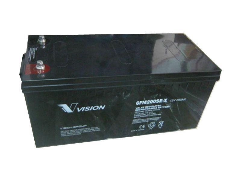 Bình ắc quy Vision 12V-200AH 6FM200SE-X