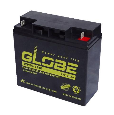 Bình ắc quy kín khí (AGM VRLA) Globe 12V-20Ah 84W (WP20-12IE)