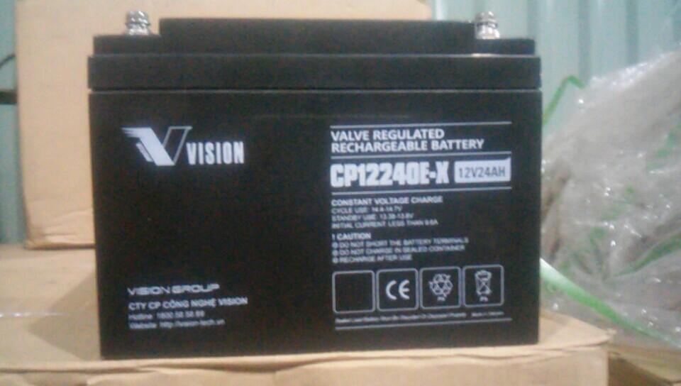 ẮC QUY VISION 12V-24AH (CP12240E-X)