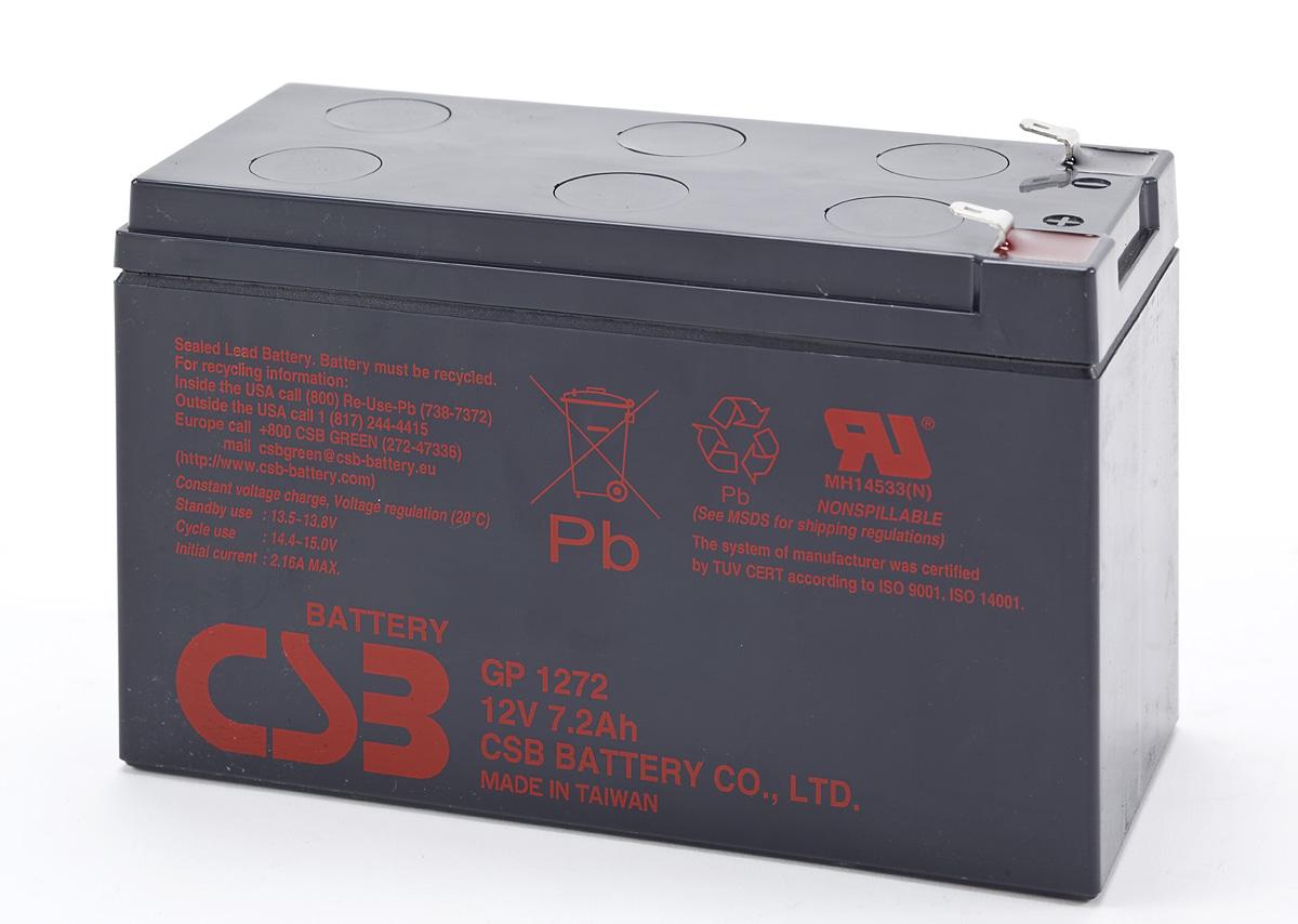 Bình ắc quy kín khí CSB 12V-7.2AH GP1272F2