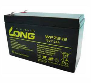 Bình ắc quy kín khí (AGM VRLA) Long 12V-7.2AH, 28Watts (WP7.2-12)